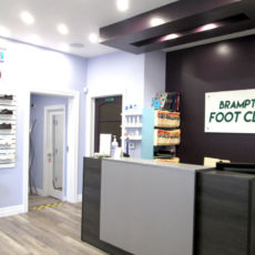 Brampton Foot Clinic Reception