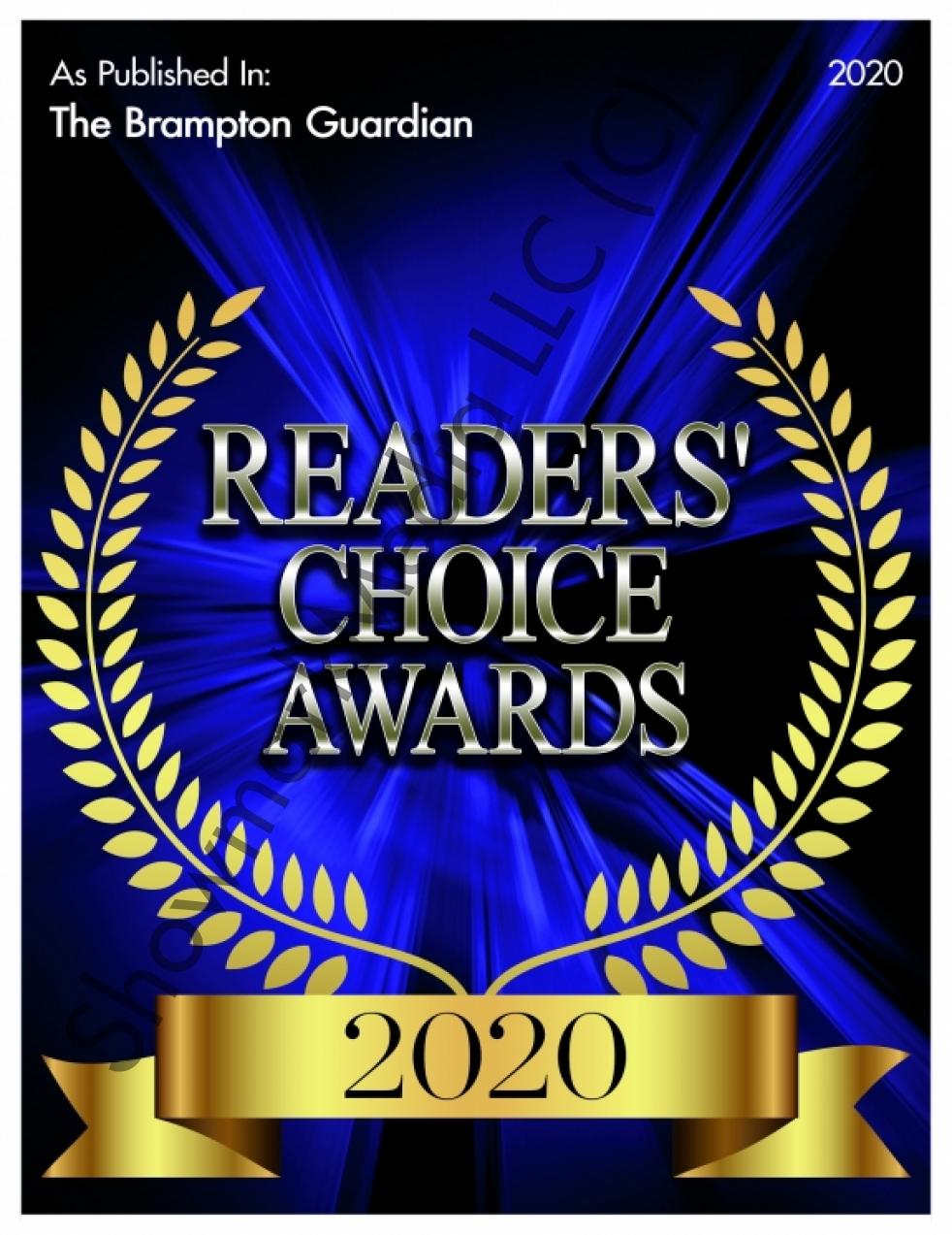 2020 Reader's Choice Best Foot Clinic Brampton